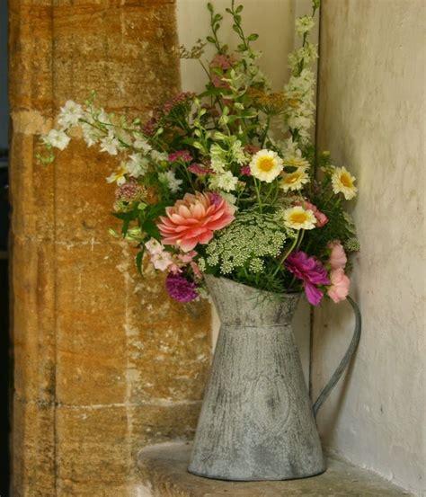 wedding flower jugs vintage jug of august flowers strictly seasonal eco wedding flowers by common farm in