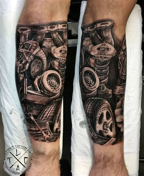 mechanic tattoos piston mechanic s forearm tattoo pinterest forearm tattoos