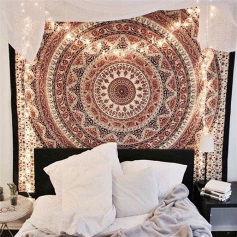 hippie bedroom tumblr home accessory mandala wall hanging hippie wall hanging hobo hippie bedroom