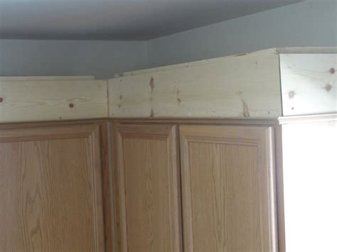 How To Put Crown Molding On Kitchen Cabinets How To Install Crown Molding On Top Of Kitchen Cabinets