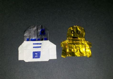 C3po Origami - c3po and art2 d2 origami yoda
