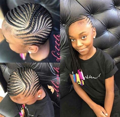 kids salon corn row 60 unbelievable cornrow styles for girls that ll make you