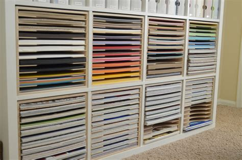 Ikea Craft Paper - paper craft storage in ikea shelving st n storage