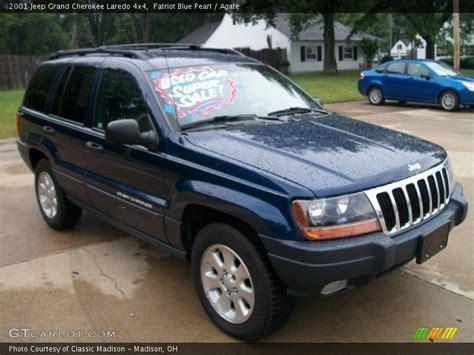 2001 Jeep Laredo 2001 Jeep Grand Laredo 4x4 In Patriot Blue Pearl