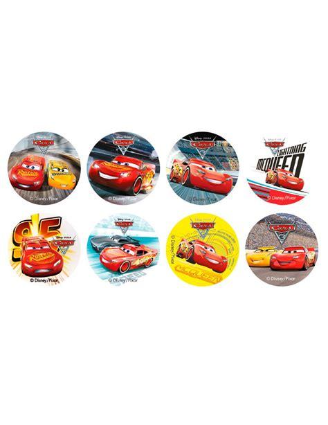Mini 3 Di Global 16 mini dischi di zucchero cars 3 su vegaooparty negozio di articoli per feste