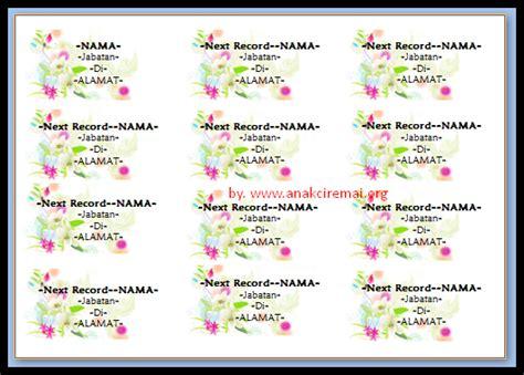 Undangan Pernikahan Kerendan Unik Fb keren label undangan unik gambar bunga anakciremai