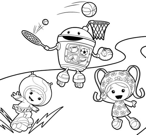 Free Printable Team Umizoomi Coloring Pages For Kids Free Printable Pictures