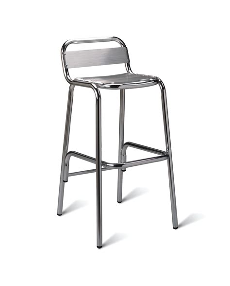 Aluminium Bar Stool by Aluminium Bar Stool Global Leisure Furniture