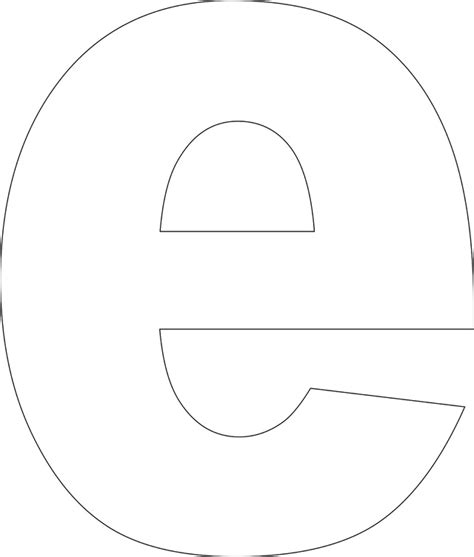 printable alphabet letter e 6 best images of free printable letter stencils e block