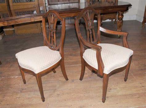 mahogany dining table and chairs mahogany dining table chairs extender sheraton