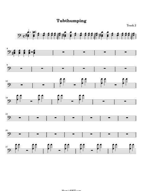 Tub Thumping Lyrics tubthumping sheet tubthumping score hamienet