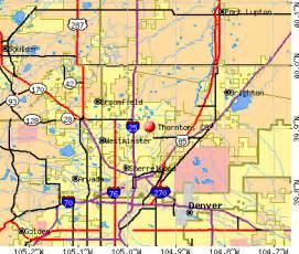 where is thornton colorado on a map thornton colorado co 80233 profile population maps