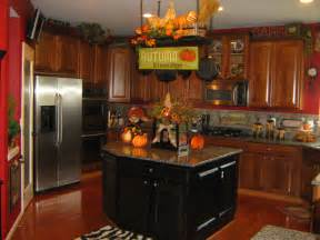 fall kitchen decorating ideas decorating ideas for top of kitchen cabinets best home