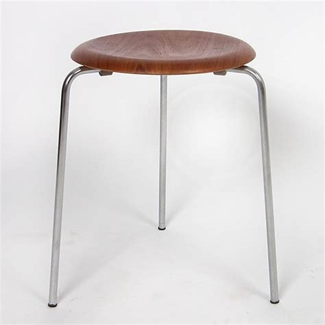 Arne Jacobsen Dot Stool by Aj Dot Stool By Arne Jacobsen For Fritz Hansen 34707