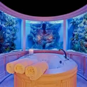 aquarium bathtub bath tub surrounded by aquariums house envy