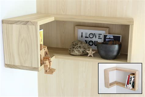 How To Build A Floating Corner Shelf by How To Make A Floating Corner Shelf Merrypad
