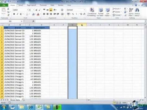 learn microsoft excel pivot tables part 1