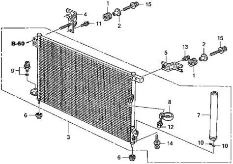 Evaporator Honda Jazz Rs Imitasi acg air condition condensor