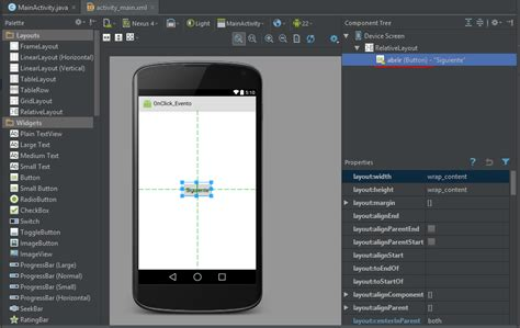 onclick android crear evento onclick android