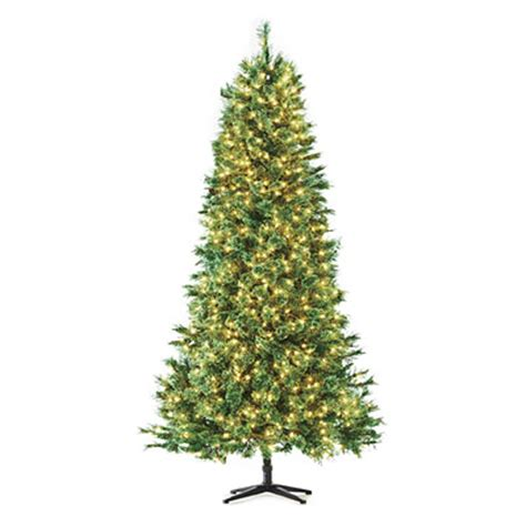 7 5 pre lit artificial christmas tree deluxe full