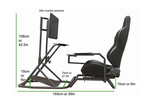 racing simulator chair plans diy racing cockpits cockpit sims vr and