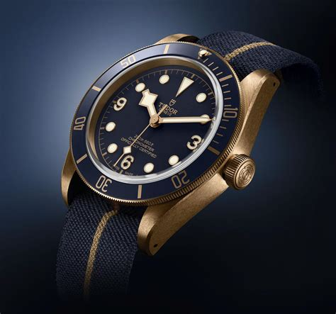 Tudor Black Bay Bronze Zfactory Swiss Eta Ultimate Clone guide to buying a introducing the tudor black bay bronze blue special edition for bucherer