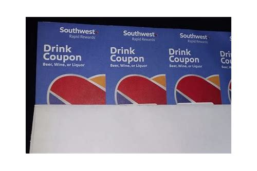 us airways free drink coupons