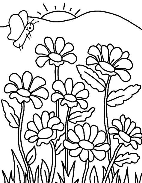 imagenes bonitas para colorear de flores dibujos de flores para colorear y pintar 174 im 225 genes infantiles