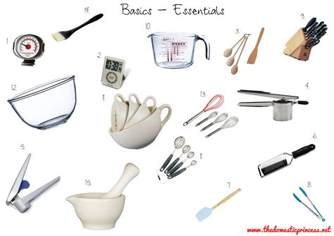 kitchen tools and equipment food prep tools equipment facs student teaching