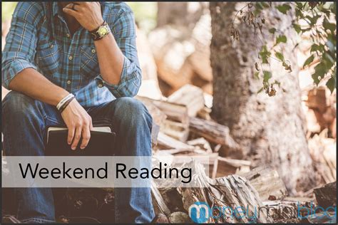 The Weekend Read 3 by Money And Productivity Weekend Reading