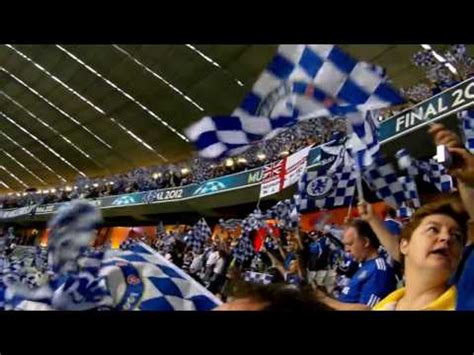 chelsea anthem lyrics chelsea fc anthem blue is the colour doovi