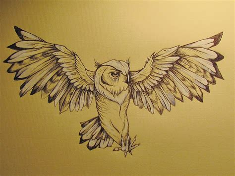 owl tattoo design by emilyrose727 on deviantart