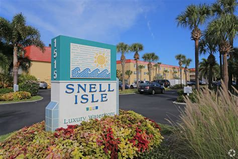 Snell Isle Luxury Waterfront Apartment Homes Rentals Snell Isle Luxury Waterfront Apartment Homes