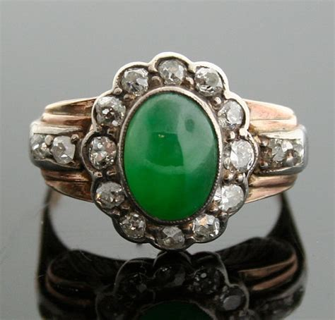 jade ring antique jade and ring
