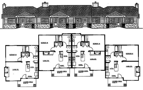 house plans and home designs free 187 archive 187 4 plex