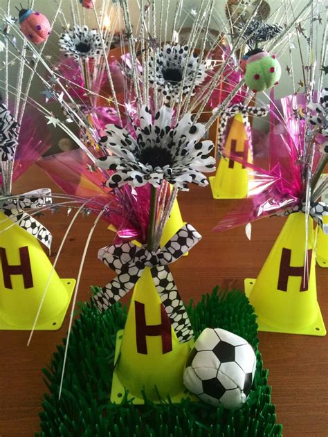 Soccer Banquet Centerpieces Football Pinterest Soccer Banquet Centerpiece Ideas