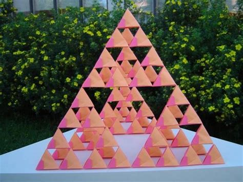 Origami Math Projects - image gallery sierpinski pyramid