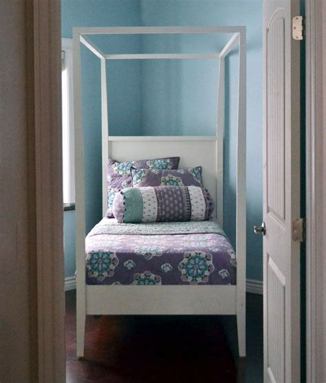 Diy Canopy Bed Frame 17 Best Images About Poster Bed Plans On Diy Canopy White And Poster Beds