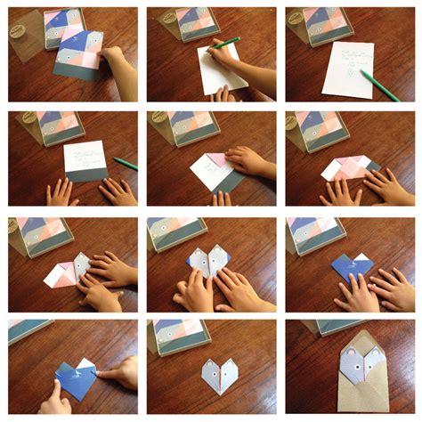 Origami Badger - origami notepaper set badger by lollipop designs