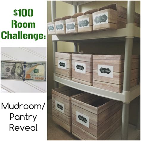 Mudroom Pantry by 100 Room Challenge The Mudroom Pantry Reveal Lemons