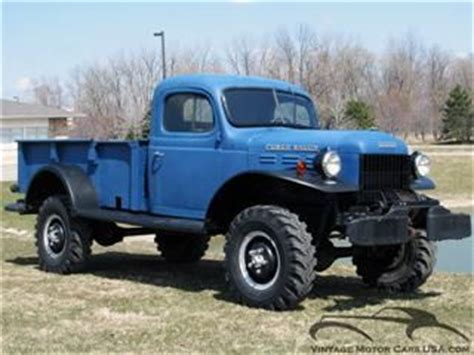 1946 Dodge Power Wagon For Sale in Cleveland, Ohio