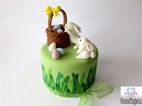 beautiful easter cakes cute easter bunny cake decorating ideas decorationy
