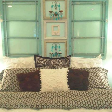 window frame headboard old windows and frames for headboard room pinterest