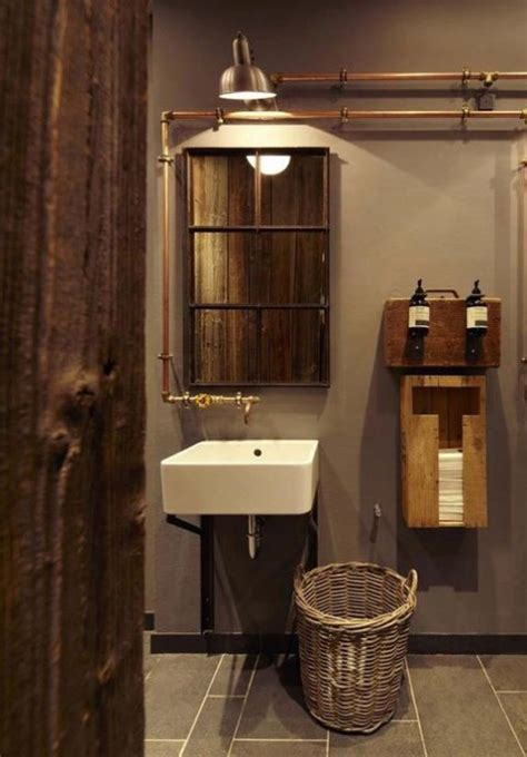 industrial bathroom ideas 33 industrial bathroom decor ideas comfydwelling com
