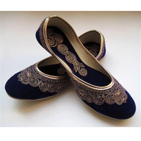 royal blue flats shoes royal blue shoes blue flats gold shoes ethnic shoes velvet
