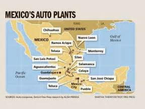 Ford Plant Locations Mexico Getting Auto Investment U S Holding Its Own