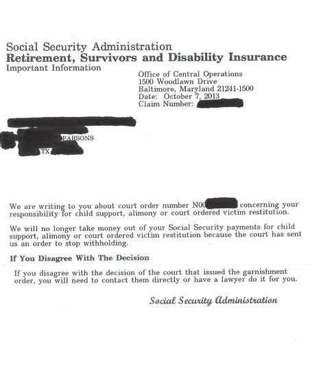 section 207 of the social security act ssdi illegally garnished vbn