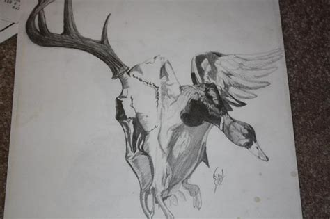 mallard duck tattoo designs deer and duck design