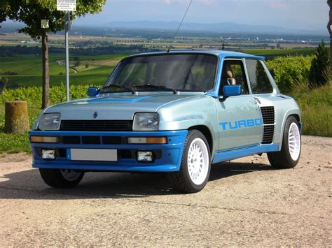 renault 5 turbo 1 renault 5 turbo review and photos