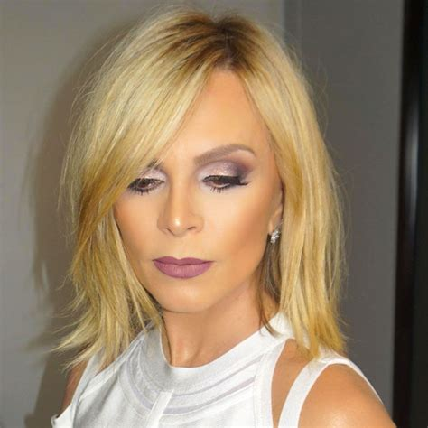 hairstyles of the real housewives tamra judge rocks new edgy bob after years of long hair